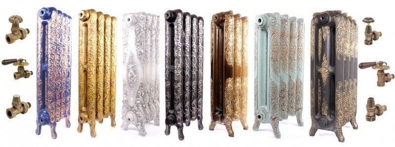 Чугунные дизайн-радиаторы Viadrus