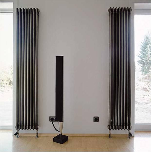 Вертикальные трубчатые радиаторы в дизайнерском исполнении